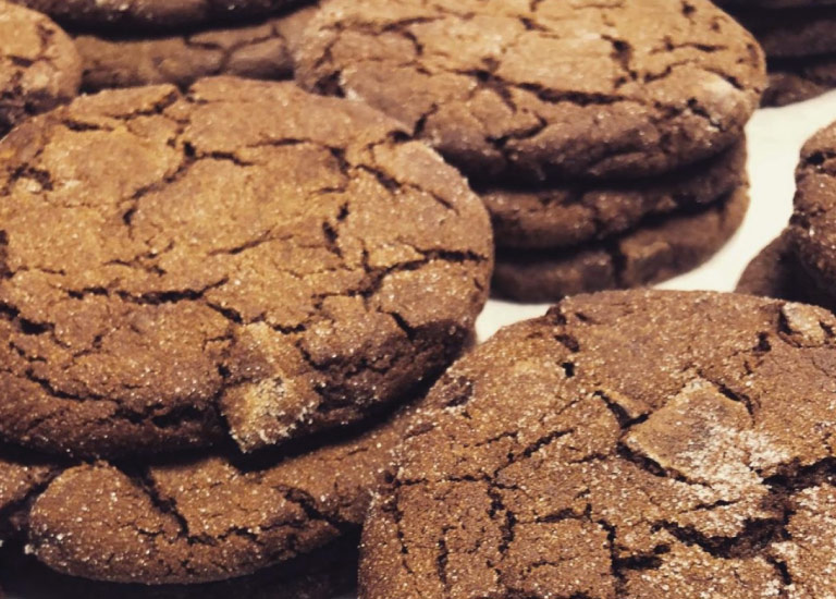 Gumtree's famous ginger chocolate cookies